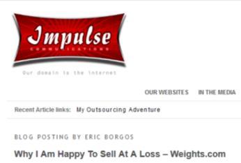 impulse - weights