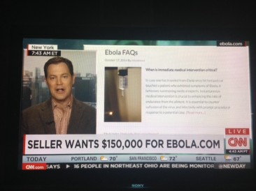 I Would Never Sell Ebola.com For $150K. It's a Steal at That Price