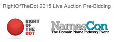 The Right Of The Dot / NamesCon Auction List is Live, and It's Absolutely Loaded