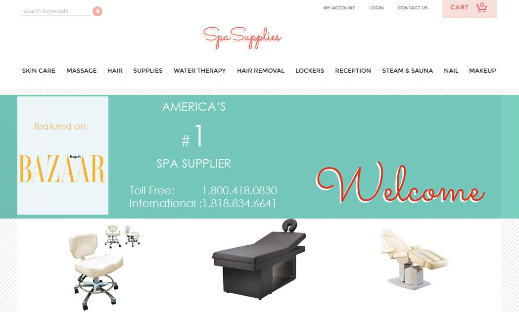 spa supplies