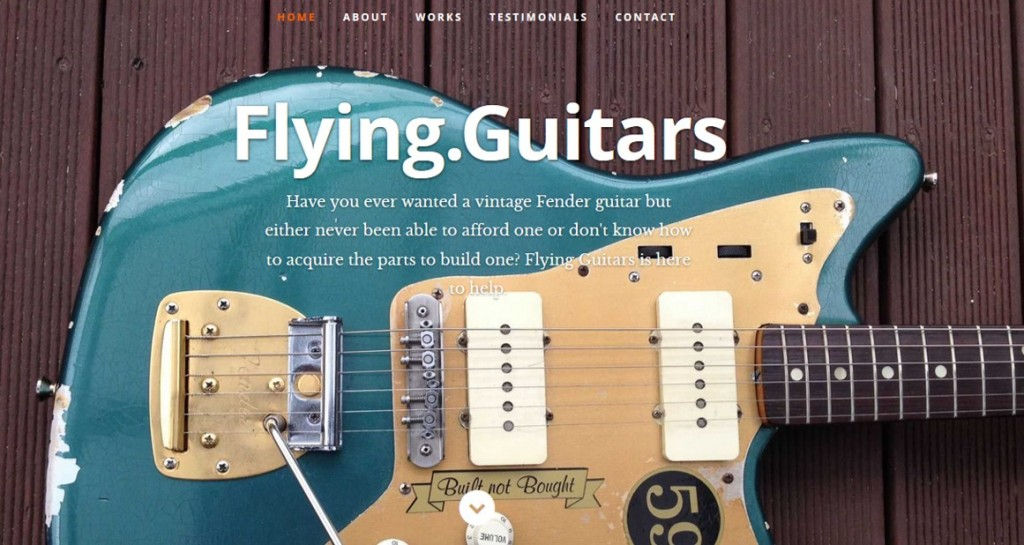 flying guitars