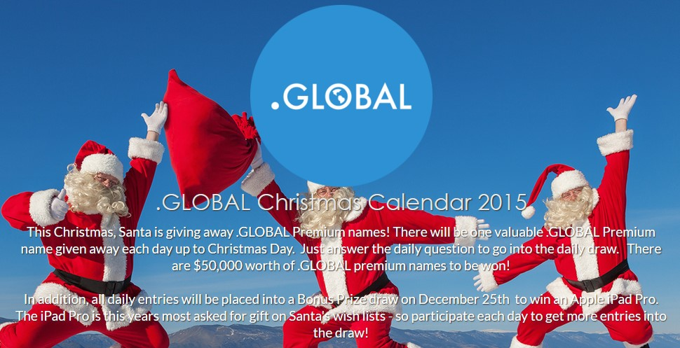 .global domain giveaway