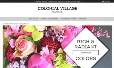 7 Bricks and Mortar Florists Developing on .Flowers Domains