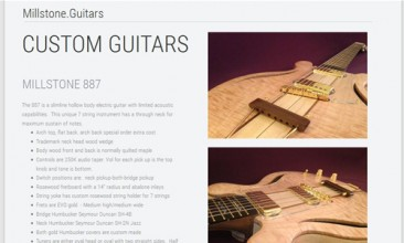 Five Guitar Companies Building on the .Guitars Extension