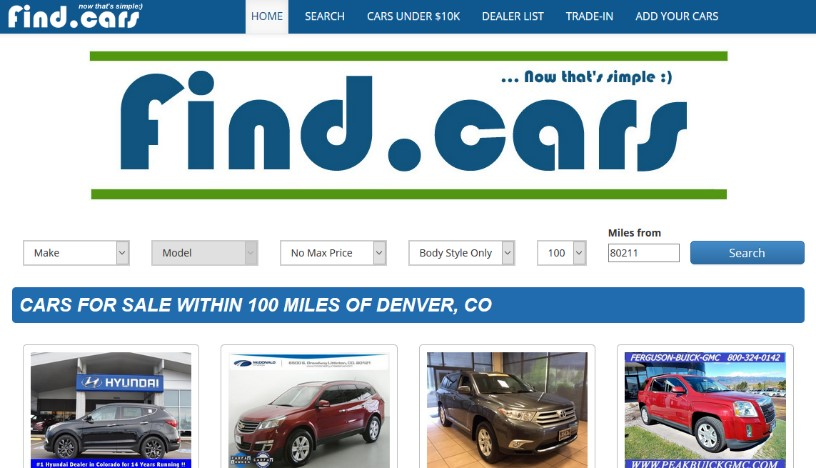 find cars