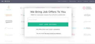 """Matt Mickiewicz Discusses Buying the Domain Hired.com for """"About"""" $125,000"""