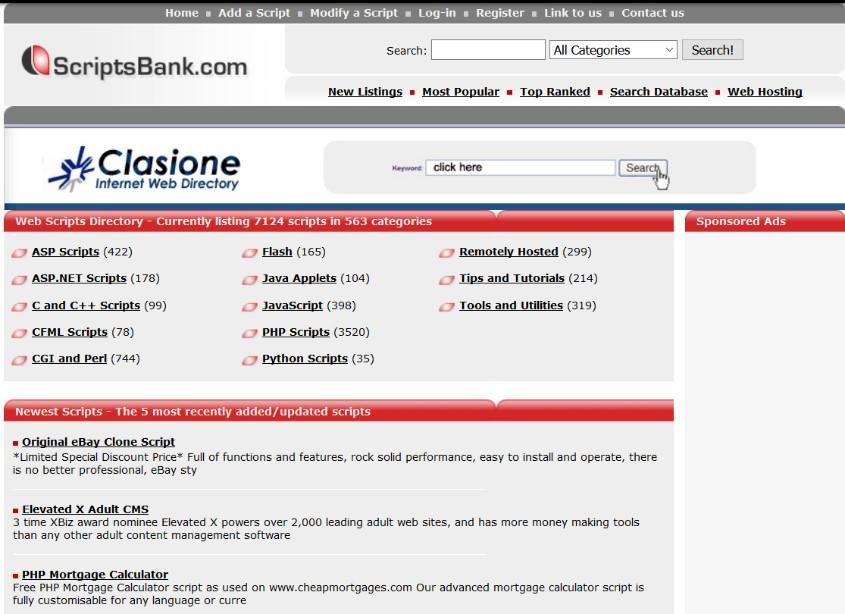scripts bank