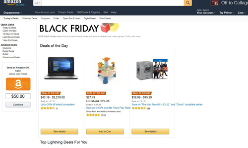 Amazon Blackfriday