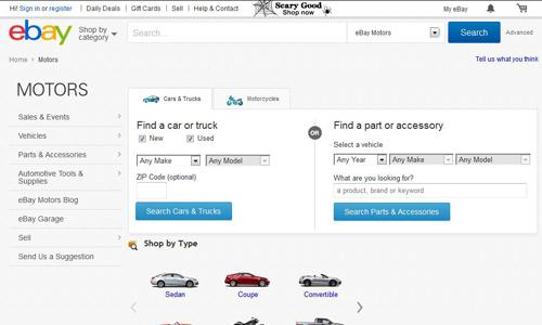 Ebay Cars